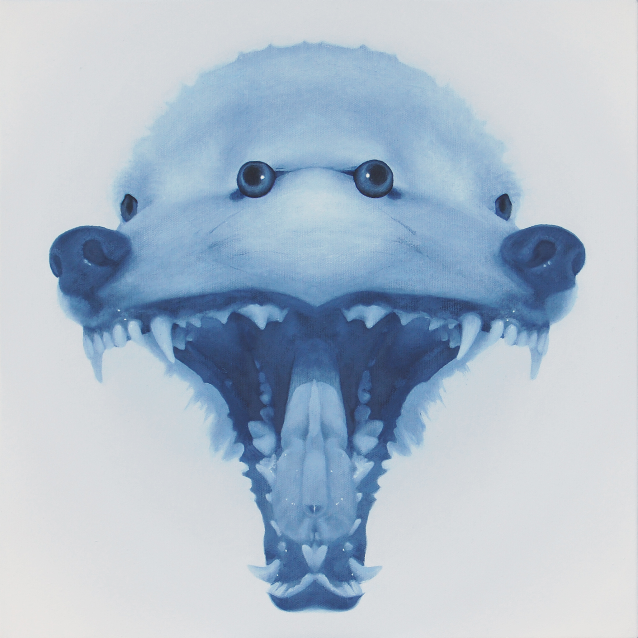 2010 hungry(blue) 455×455㎜