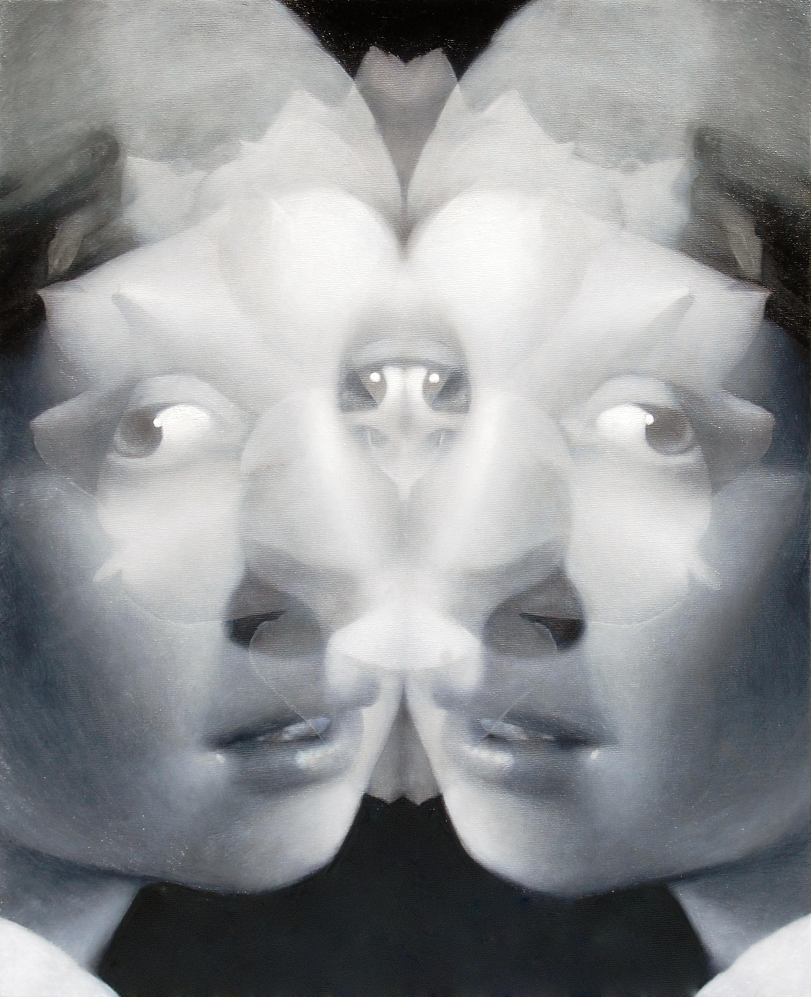 2011 floral stain(Het meisje met de parel) 652×530㎜
